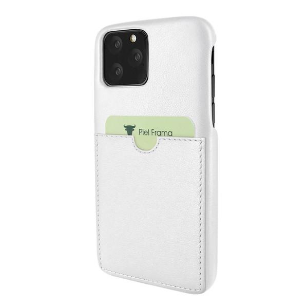 Piel Frama 832 White FramaSlimGrip Leather Case for Apple iPhone 11 Pro