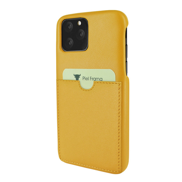 Piel Frama 832 Yellow FramaSlimGrip Leather Case for Apple iPhone 11 Pro