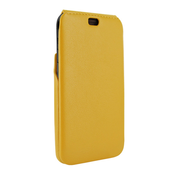Piel Frama 834 Yellow iMagnum Leather Case for Apple iPhone 11 Pro Max