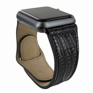 Piel Frama 732 Black Lizard Leather Strap for Apple Watch (38mm)