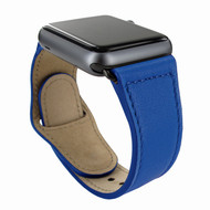 Piel Frama 733 Blue Leather Strap for Apple Watch (42-44mm)