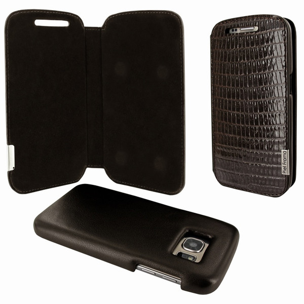 Piel Frama 742 Brown Lizard FramaSlimMagnum Leather Case for Samsung Galaxy S7