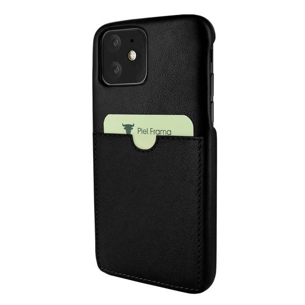 Piel Frama 838 Black FramaSlimGrip Leather Case for Apple iPhone 11