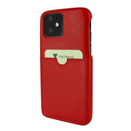Piel Frama 838 Red FramaSlimGrip Leather Case for Apple iPhone 11