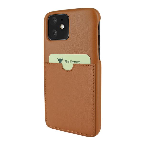 Piel Frama 838 Tan FramaSlimGrip Leather Case for Apple iPhone 11