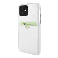 Piel Frama 838 White FramaSlimGrip Leather Case for Apple iPhone 11