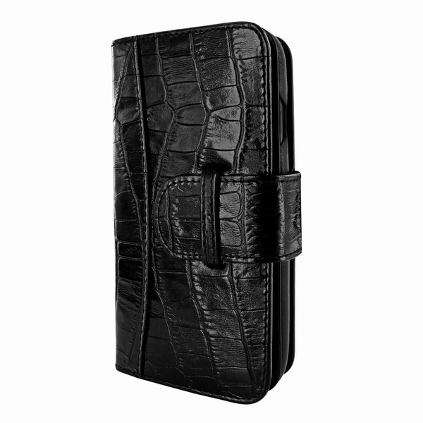Piel Frama 841 Black Crocodile WalletMagnum Leather Case for Apple iPhone 11 Pro Max
