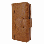 Piel Frama 841 Tan Karabu WalletMagnum Leather Case for Apple iPhone 11 Pro Max