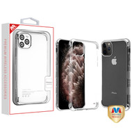iPhone 11 Pro Max Silver Plating TUFF Klarity Lux Candy Skin Cover (with Package)