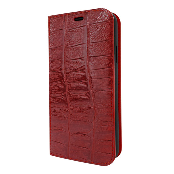 Piel Frama 833 Red Wild Crocodile FramaSlimCards Leather Case for Apple iPhone 11 Pro