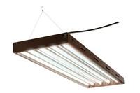 HydroFarm Designer T5 Fluorescent Light 4' x 4 w/bulbs