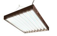 HydroFarm Designer T5 Fluorescent Light 4' x 8 w/bulbs