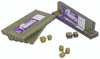 "Grodan Rockwool 1.5"" x 1.5"" x 1.5"" - 45 Cube Strip MM 40/40 6/15 Block"