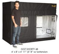 "Gorilla Grow Tent 4'x8' SHORTY w/ 9"" Extension Kit"