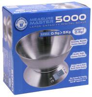 Measure Master Digital Scale w/ Bowl - 5000g