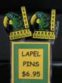 PARROT LAPEL PIN