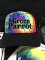 Black Tye Dye Trucker Hat