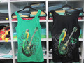 Neck Guitar Ladies Tank