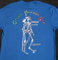 Skeleton Weird R Welcome Royal Blue Tee
