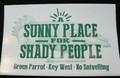 Sunny Shady Sticker