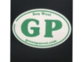 Oval G. P. Sticker
