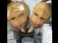 SMIRK hand fan/mask