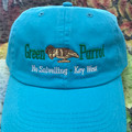 Turquoise - Women's Embroidered Cloth Hat