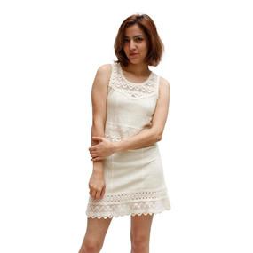 Womens 100% Pima Cotton Summer Dress Size L