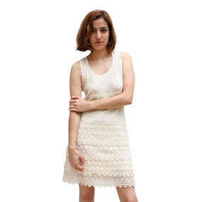 Womens 100% Pima Cotton Summer Dress Size M