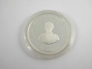 Silver Coin Queen Elizabeth The Queen Mother 1994 Barbados One Dollar