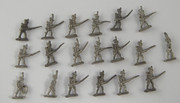 Collection of Small Lead Soldiers