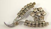 Vintage Art Deco Costume Jewellery Brooch