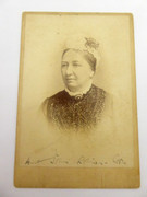 1800s Victorian Cabinet Card Photograph by Charles E Weale Nuneaton Tamworth