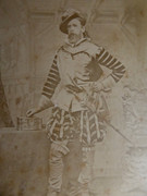 1800s Victorian Cabinet Card Photograph by Alexander Bassano London