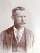 1800s Victorian Cabinet Card Photograph by Henningar Brothers Middletown Connecticut