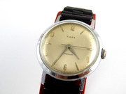 Vintage Timex Automatic Wrist Watch on a Black Band