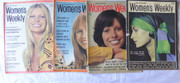1970s Collections of 4 Australian Women's Weekly Magazines