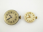 Pair of Working Ladies Mechanical Watch Swiss Movements Bebe and Uno
