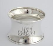 Antique 1915 Hallmarked Sterling Silver Napkin Ring MSA