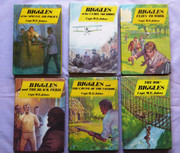 Collection of Six Biggles Books by Cpt W. E. John