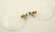1800s Antique 12K Gold Plated Glasses Spectacles Pince  Nez