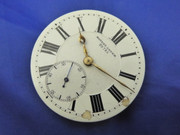 1800s Antique Mechanical Pocket Watch Movement Working Chronometer Balance