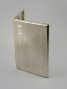 Vintage 1946 Heavy Sterling Silver Cigarette Case 195 Grams Denis Brewtnall Brook Barn Lodge