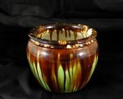 Unusual Vintage Australian Pottery Vase McHugh Pottery Tasmania Shape 10