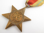 Original Issued  Unnamed WW2 Commonwealth Military  The African Star  Medal with Ribbon $65au