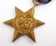 Original Issued  Unnamed WW2 Commonwealth Military The 1939 - 1945 Star  Medal with Ribbon $65au
