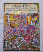 Australian Europeain Art & Aboriginal Art Reference Book Christies 1997