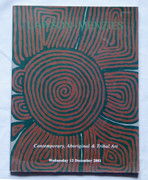 Australian Contemporary Aboriginal & Tribal Art Reference Book Lawson - Menzies 2001