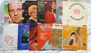 Vintage  Collections 33  Rpm LP Long   Play Retro   Records