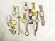 Group  lot of Quartz Watch Movements Parts Steampunk Untested